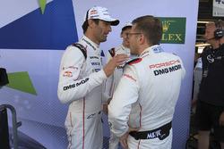 Mark Webber, Brendon Hartley, Porsche Team, Andreas Seidl, Principal Porsche Team