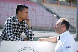 Pascal Wehrlein, Manor and Ullrich Fritz, Team Principal Mercedes-AMG HWA