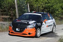 Andrea Vineis, Alessio Rodi, Peugeot 208 VTI R R2B, Cars For Fun