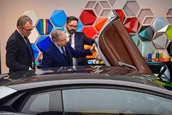 Jean Todt, Presidente FIA e Stefano Domenicali, CEO Lamborghini Automobili