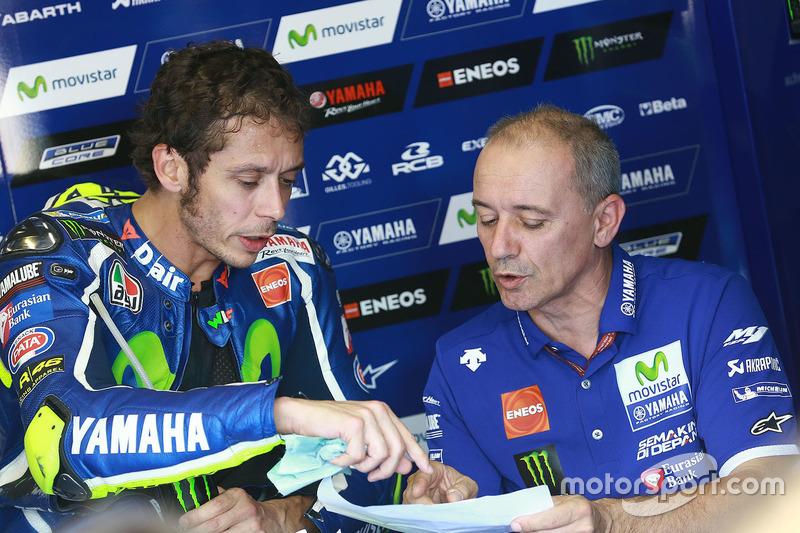 Valentino Rossi, Yamaha Factory Racing, Cadalora