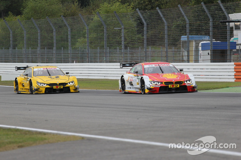 Augusto Farfus, BMW Team MTEK, BMW M4 DTM; Timo Glock, BMW Team RMG, BMW M4 DTM