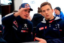 Davy Jeanney and Timmy Hansen, Team Peugeot Hansen