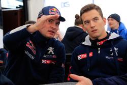 Davy Jeanney and Timmy Hansen, Team Peugeot Hansen