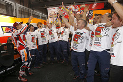 Marc Marquez, Repsol Honda Team, vainqueur de la course