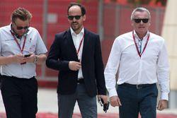 Джонатан Николас, пресс-серетарь F1, Александре Молина, основатель TCR и Марчелло Лотти