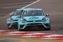 Jean-Karl Vernay Volkswagen Golf GTI TCR Leopard Racing et Stefano Comini, Leopard Racing Volkswagen Golf GTI TCR
