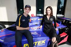 Matt Brabham with Taya Kyle, Team Murray ambassador
