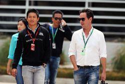 Rio Haryanto, Manor Racing avec Piers Hunnisett, manager