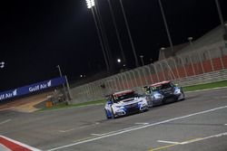 Aku Pellinen, Honda Civic TCR West Coast Racing y Dusan Borkovic, Seat Leon B3 Racing Team Hungary