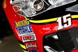 Clint Bowyer, HScott Motorsports Chevrolet car detail