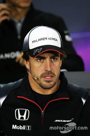 Фернандо Алонсо, McLaren на пресс-конференции FIA