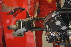 Ferrari SF16-H rear attachment of top wishbone
