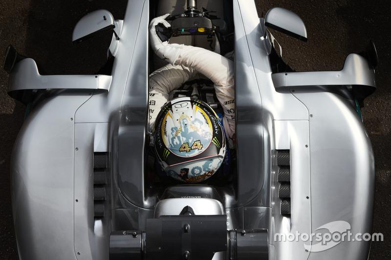 Monaco 2016 - Lewis Hamilton, Mercedes