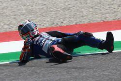 Niccolo Antonelli, Ongetta-Rivacold crash