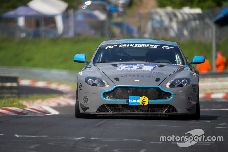 #43 AF Racing AG / R Motorsport, Aston Martin Vantage V8: Dr. Andreas Bänziger, Peter Lemhuis