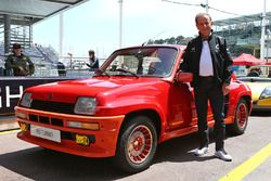 Jean Ragnotti, Piloto de Rally y Renault Ambassador, con un Renault 5 RS Turbo