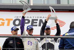 Podium: race winner #14 V8 Racing Renault RS01: Nicky Pastorelli, Josh Webster