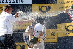 Podium: Stefan Reinhold , BMW Team RMG y Timo Glock, BMW Team RMG, BMW M4 DTM