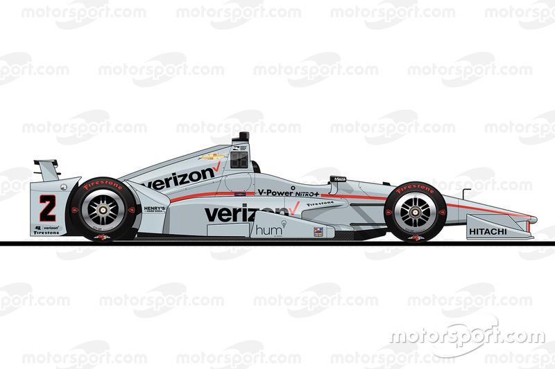 17. Хуан-Пабло Монтойя, Team Penske Chevrolet