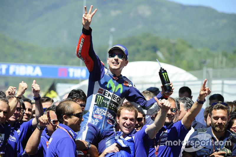 43- GP de Italia 2016, Yamaha