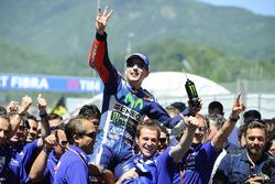 Race winnaar Jorge Lorenzo, Yamaha Factory Racing