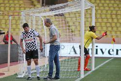 Giancarlo Fisichella, hayır kurumlarına destek için yapılan futbol maçında
