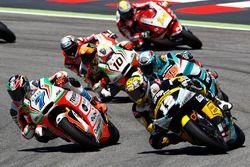 Lorenzo Baldassarri, Forward Racing, und Thomas Lüthi, Interwetten