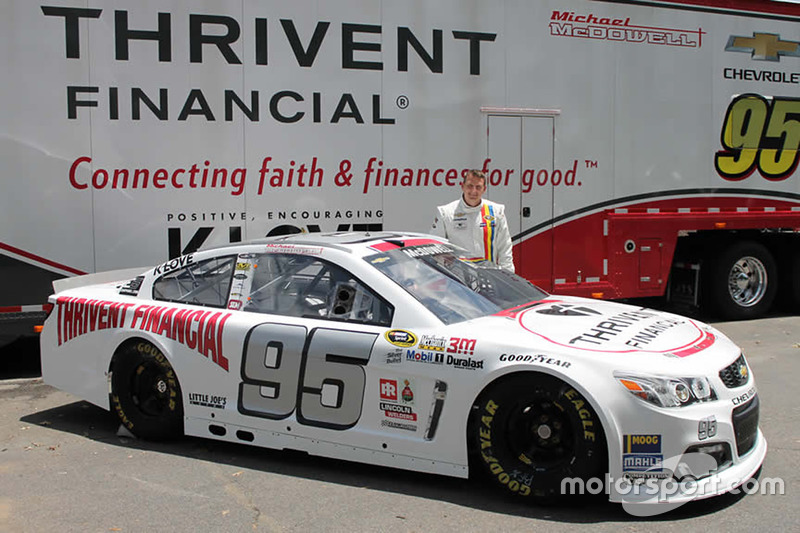 Throwback-Design von Michael McDowell, Circle Sport Leavine Family Racing, Chevrolet