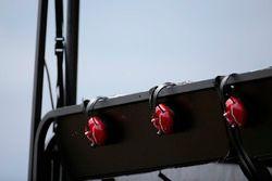 Auriculares de comunicación en el pitlane