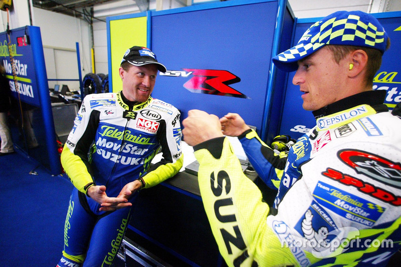Kenny Roberts Jr., Team Suzuki and Sete Gibernau, Team Suzuki