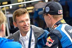 Dr. Frank Welsch, Volkswagen Board for development, Jari-Matti Latvala, Volkswagen Motorsport
