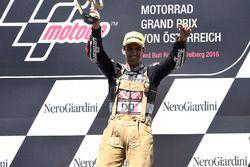 Race winner Johann Zarco, Ajo Motorsport