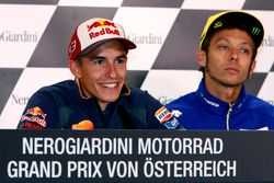 Marc Marquez, Repsol Honda Team et Valentino Rossi, Yamaha Factory Racing