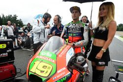Alvaro Bautista, Aprilia Racing Team Gresini with a lovely grid girl