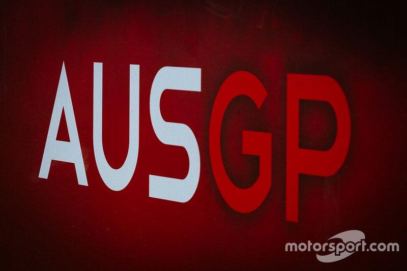 Logo del GP d'Australia