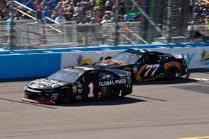 Kurt Busch, Chip Ganassi Racing, Chevrolet Camaro Global Poker, Quin Houff, Spire Motorsports, Chevrolet Camaro Rim Ryderz
