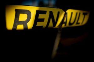Renault F1 Team R.S.19, dettaglio del logo Renault