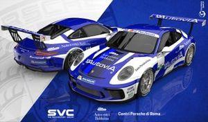 Rendering della livrea di Francesco De Luca, AB Racing