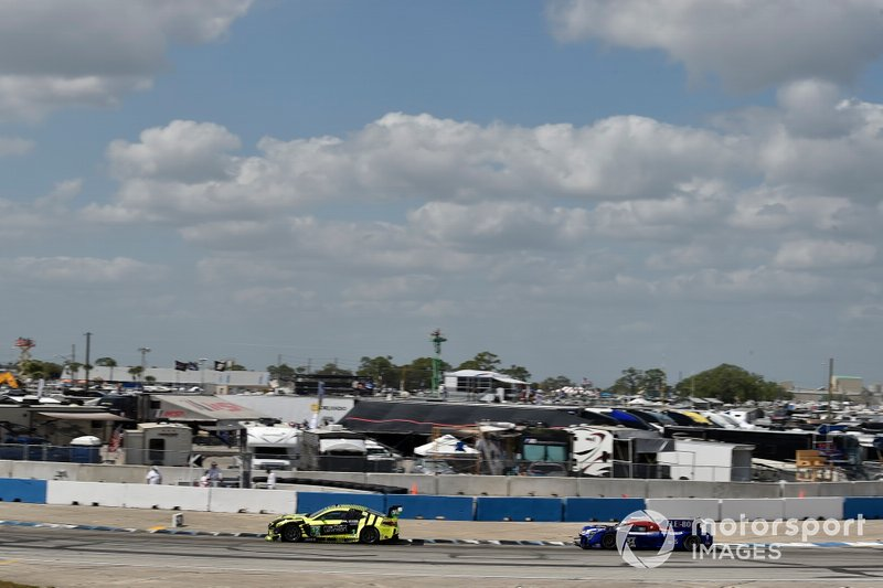 #12 AIM Vasser Sullivan Lexus RC F GT3, GTD: Frank Montecalvo, Townsend Bell, Aaron Telitz, #54 CORE autosport Nissan DPi, DPi: Jonathan Bennett, Colin Braun, Romain Dumas