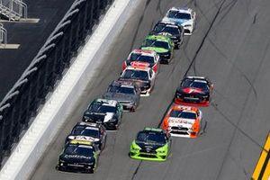 Ross Chastain, Kaulig Racing, Chevrolet Camaro Nutrien Ag Solutions and Brad Keselowski, Team Penske, Ford Mustang Fitzgerald