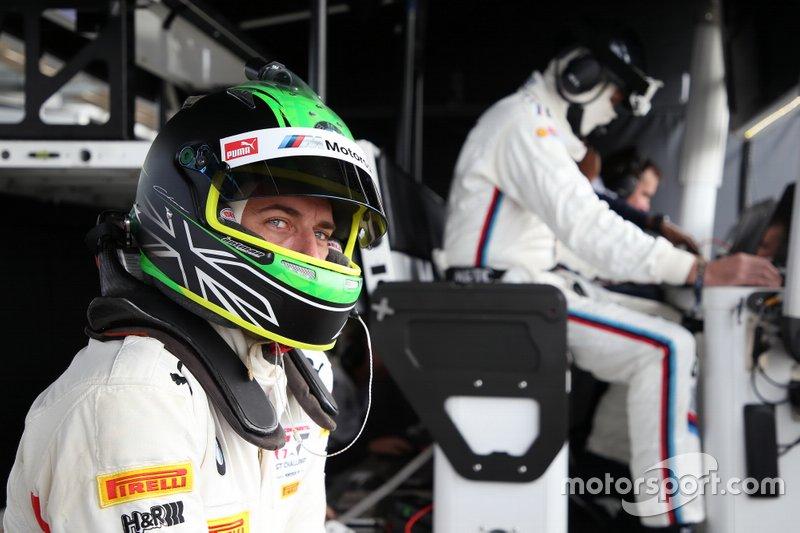 #42 BMW Team Schnitzer BMW M6 GT3: Chaz Mostert