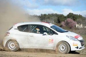 Peugeot 208 R2 de la Rallye Cup Ibérica 2019