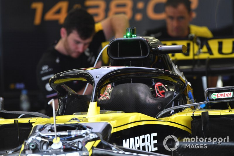 Renault R.S.19 halo