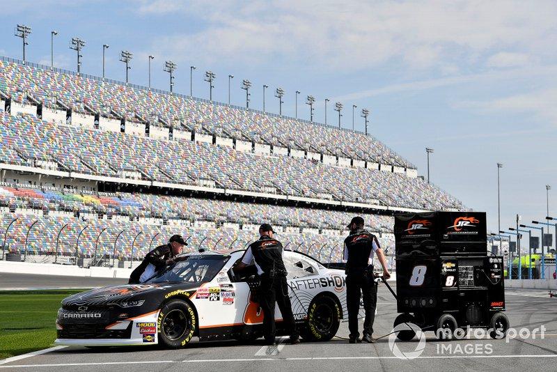 Chase Elliott, JR Motorsports, Chevrolet Camaro Aftershokz