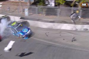 Маколи Джонс, Brad Jones Racing, авария