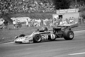 1975 Jacques Laffite, Ecurie Elf Ambrozium Martini Mk 16 BMW