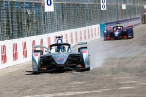 Felipe Massa, Venturi Formula E, Venturi VFE05 bloquea una llanta
