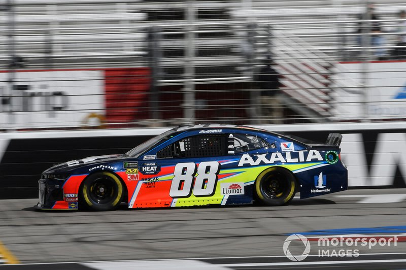 16. Alex Bowman, Hendrick Motorsports, Chevrolet Camaro Axalta