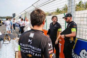 DS TECHEETAH team members on the grid